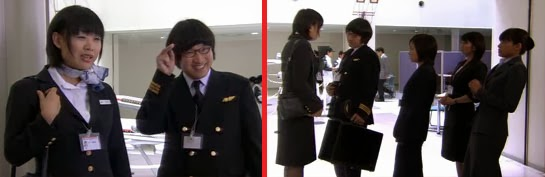 Chii speaks forcefully enough that Okaba, Misaki, Sekiyama and Wakamura physically lean back.