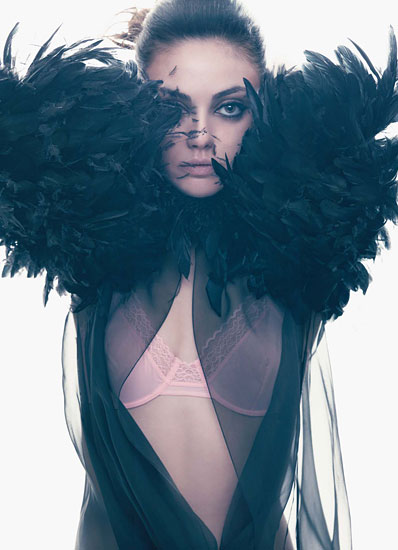 Mila Kunis Photoshooting for W Magazine