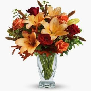 Teleflora Fall Fantasia Flower Bouquet
