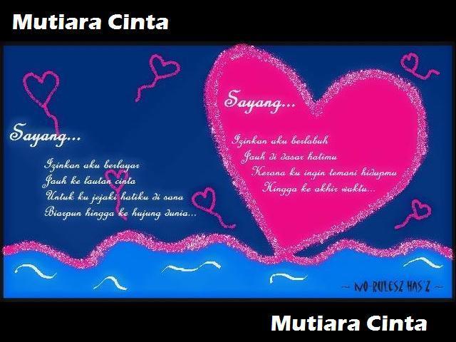 Kata Mutiara Cinta 2014
