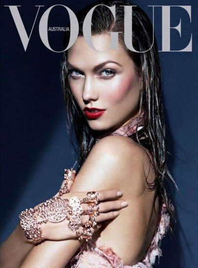Karlie Kloss para Vogue Australia