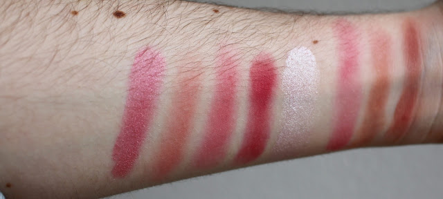swatch palette sugar and spice makeup revolution