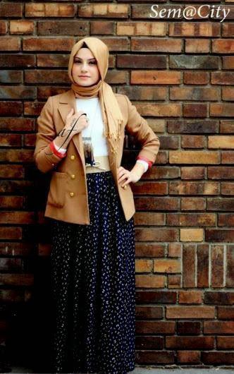 Hijab fashion hiver 2014