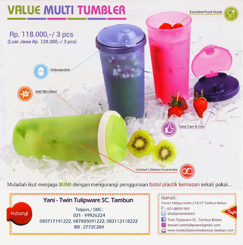 Value Multi Tumbler Edisi Terbaru 2014