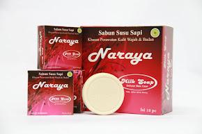 Naraya Milk Soap <br> Sabun Susu Sapi Murni