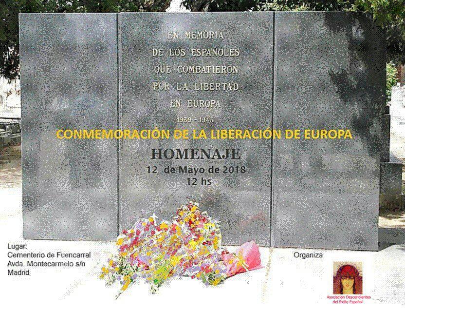 12 de mayo  Liberación de Europa del Nazi-Fascismo