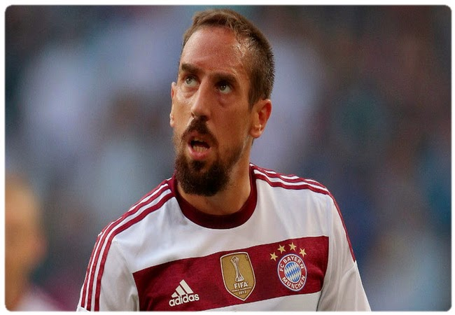 Franck Ribery: I have seen how Blatter with euphoria welcomed Ronaldo