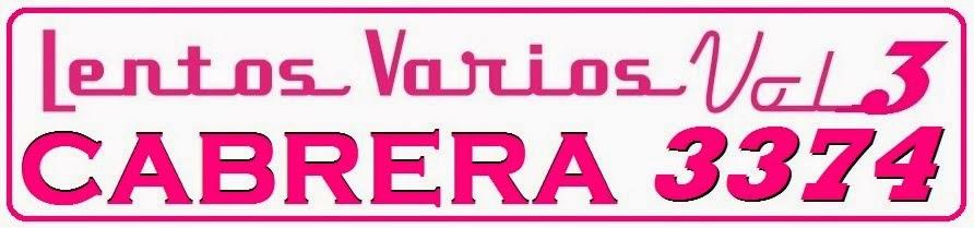 Lentos Varios Vol3   Cabrera 3374