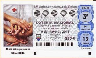 Sorteo especial de la Cruz Roja en la Lotería Nacional