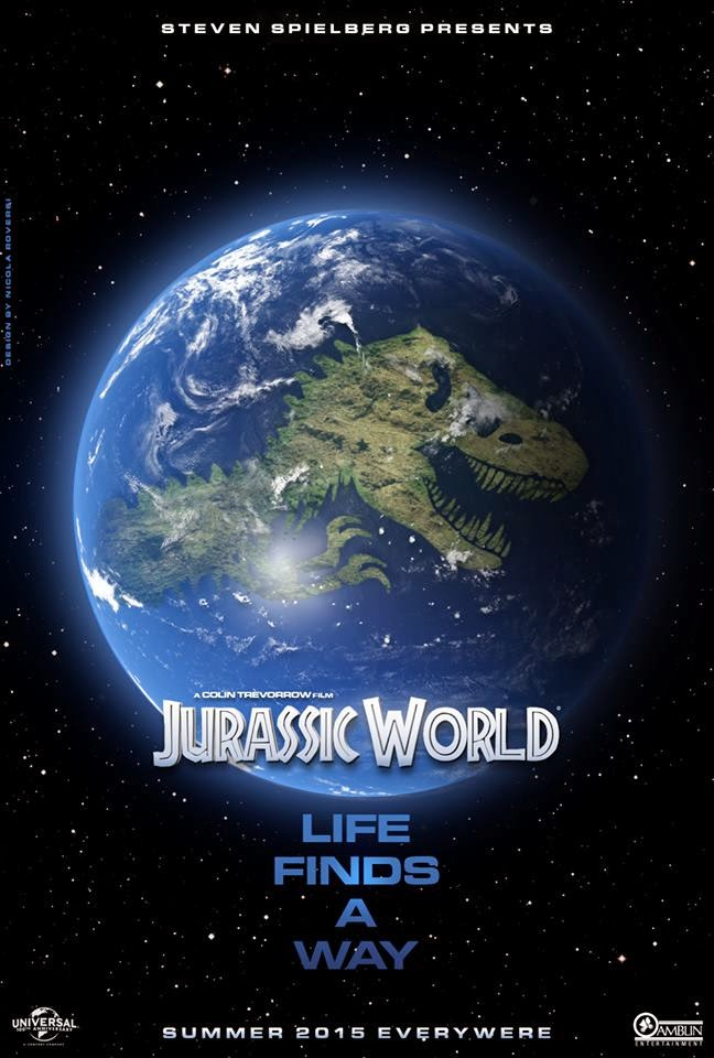 Jurassic World Sketch Poster Movie