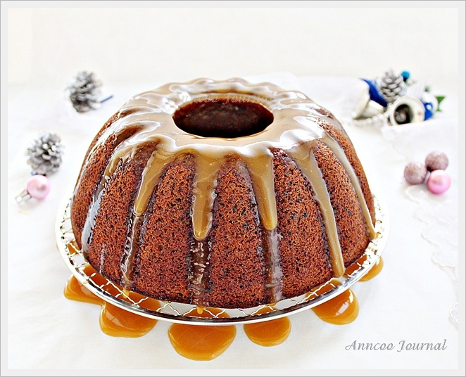 Rum and Prune Cake with Caramel Sauce | Anncoo Journal - Come for ...