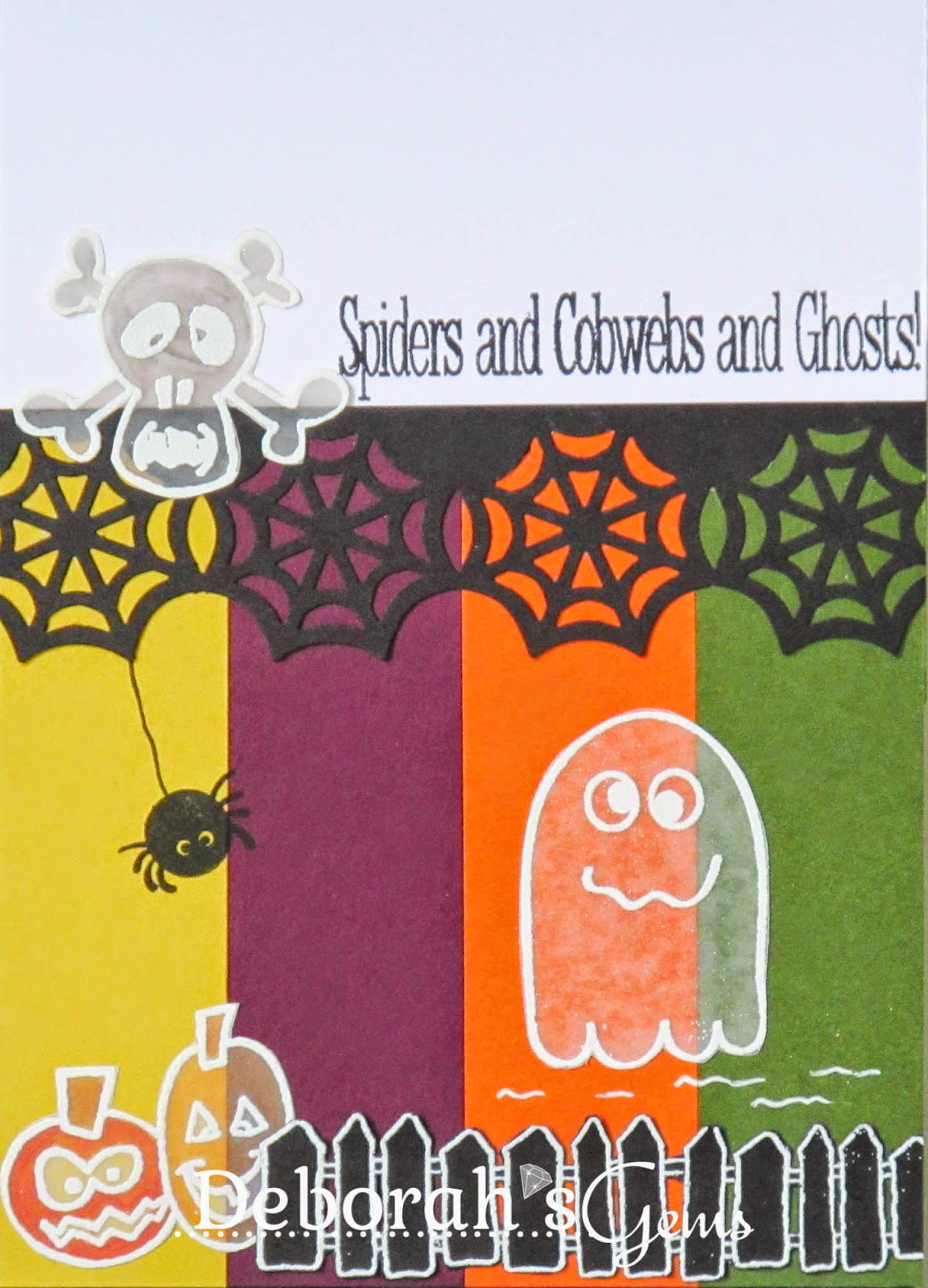 Spiders, Cobwebs & Ghosts - photo by Deborah Frings - Deborah's Gems