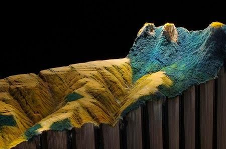 Esculturas Talladas en Libros, Arte y Reciclaje