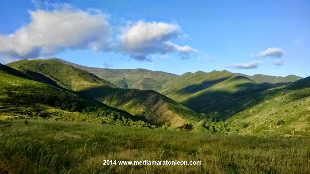 travesia integral Montes Aquilianos