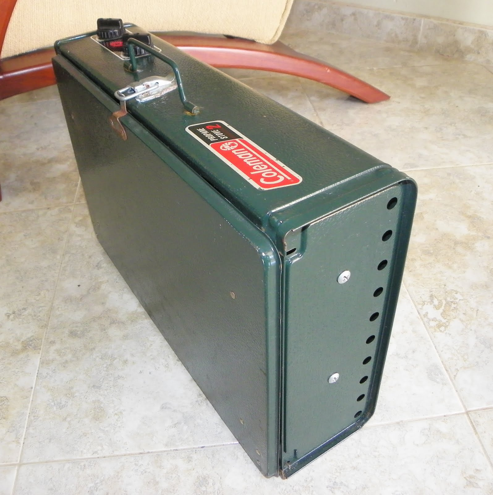 Venta de garaje electr nica cocina portatil coleman for Cocina de gas portatil