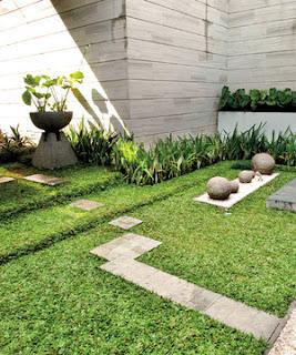 DESAIN HALAMAN RUMAH Gambar Halaman Atau Kebun Rumah Unik