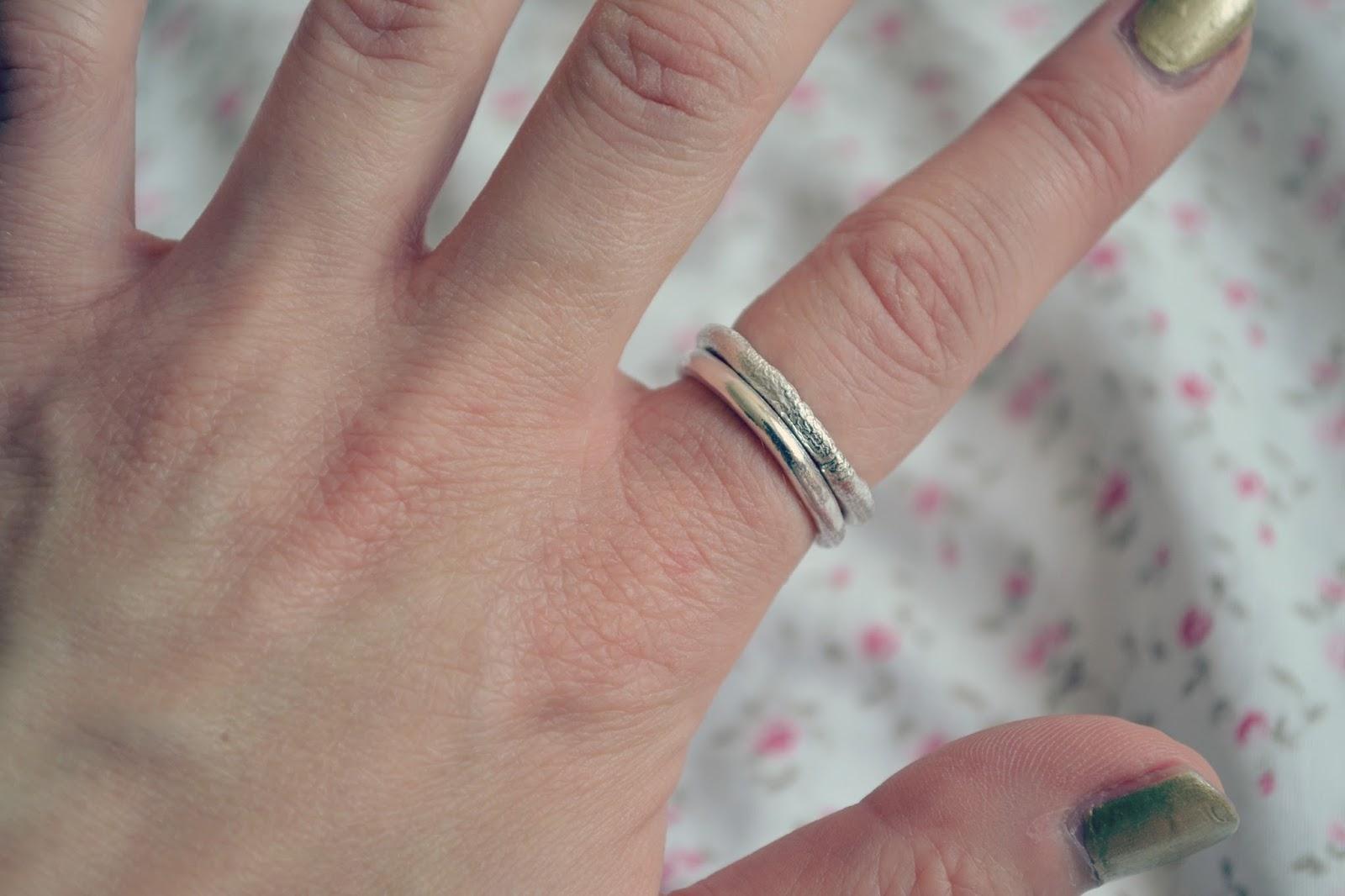 daniella draper bespoke silver rings