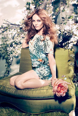 H&M primavera 2013 Conscious vestido estampado