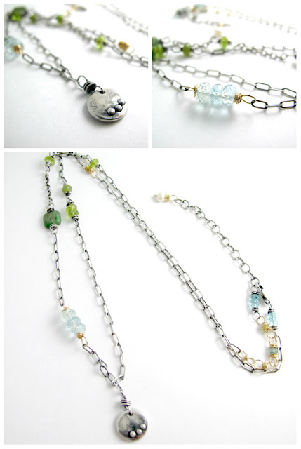lake tahoe necklace jewelry sterling silver charm beth hemmila