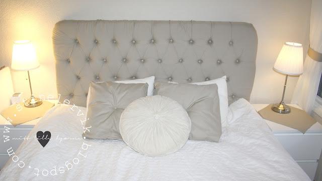 Stine lervik   mitt lille hjørne♥: soverommet vårt med ny gavl