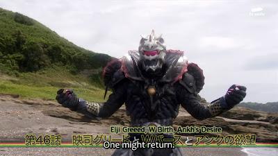 Kamen Rider OOO Episode 46 SUB