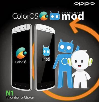 Color OS dan Cyanogen Mod