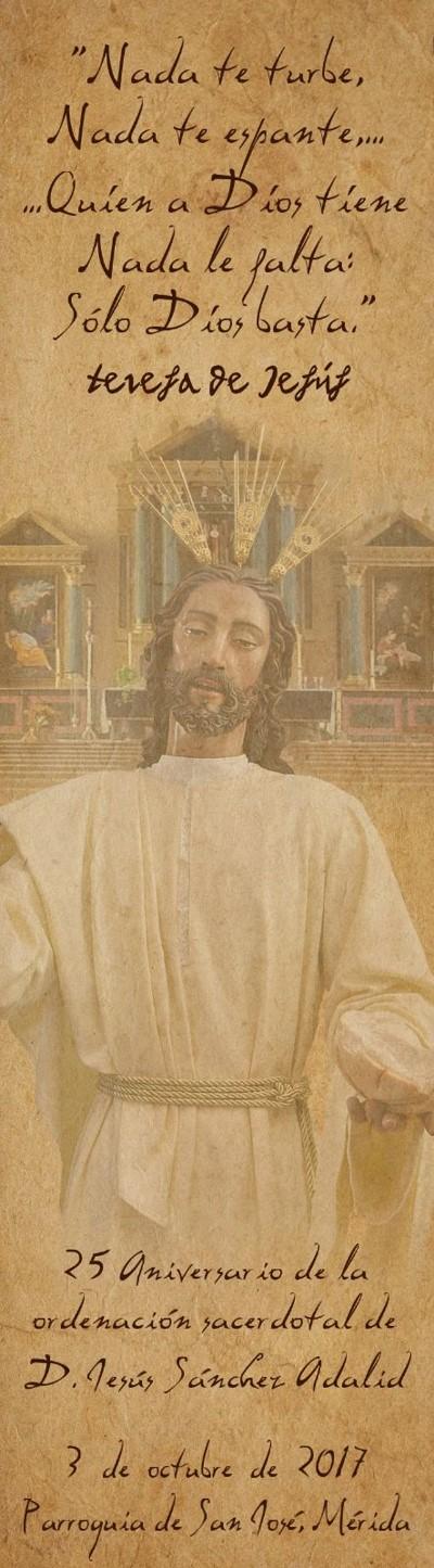 25 aniversario de la ordenación sacerdotal de D, JESÚS SÁNCHEZ ADALID