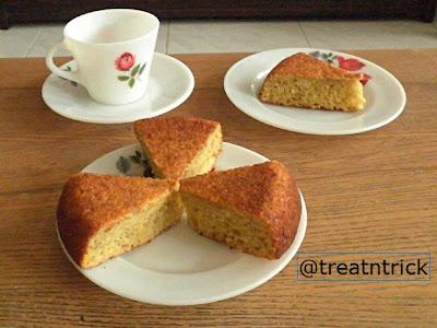 Apam Pisang Bakar Recipe  @ http://treatntrick.blogspot.com