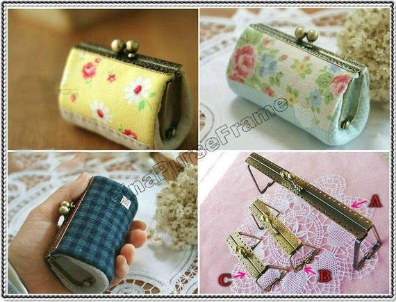 how to make a coin purse with frame