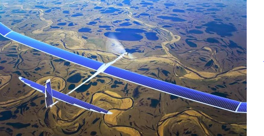 Facebook plane successfully tested the Internet to connect