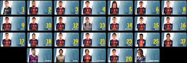 2014-2015 FC Barcelona