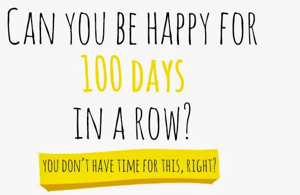100 day Happiness project