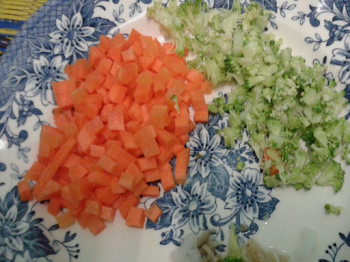 Bubur Nasi Yang Sihat Untuk Si Manja