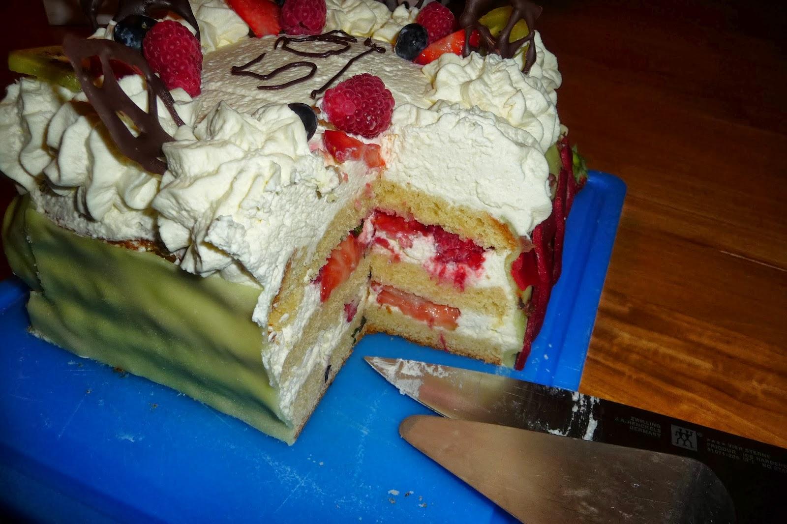 taart na tekenen