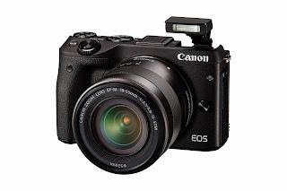 Canon EOS M3 24 megapixel mirrorless EF-M mount