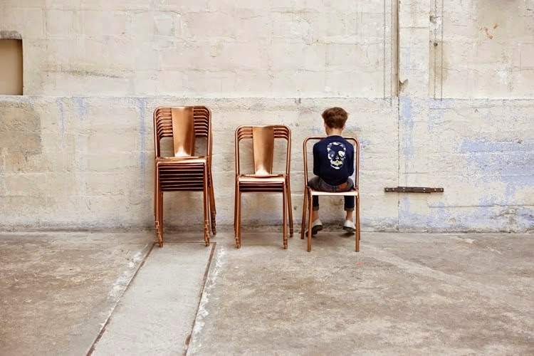 Zadig & Voltaire cool spring/summer 2014 kids fashion collection