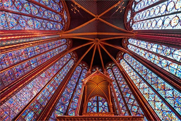 Sainte Chapelle, Paris  Fransa