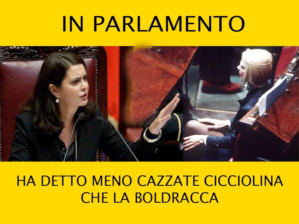 Necessitano 50.000 firme contro la Boldrini
