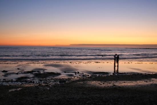 Lettre d'amour sur la plage 1