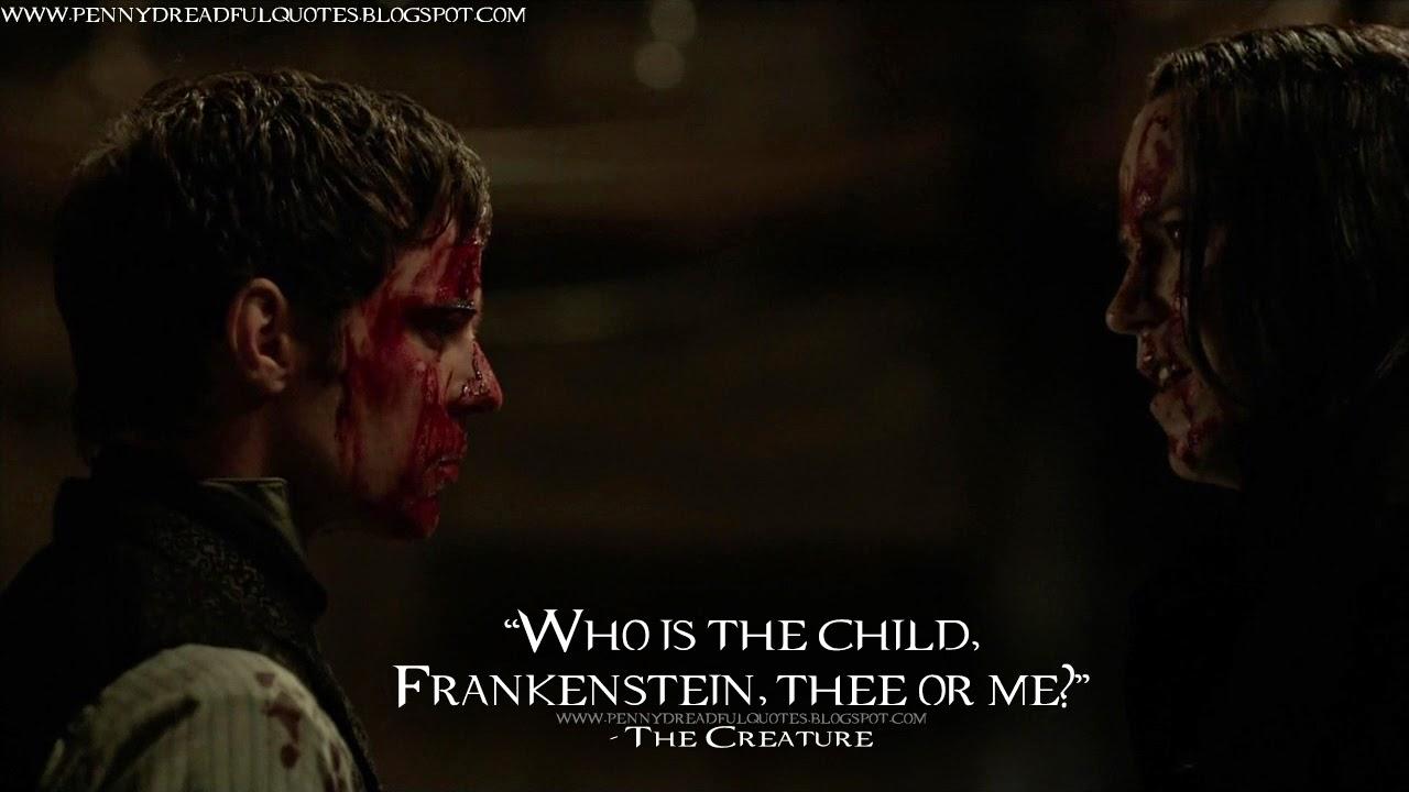 Frankenstein Movie Quotes