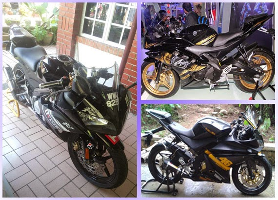 Cara Modifikasi New Vixion to Yzf R15 full fairing