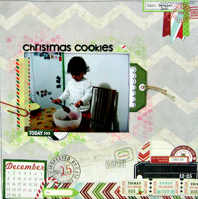 "Layout ""Christmas Cookies"""