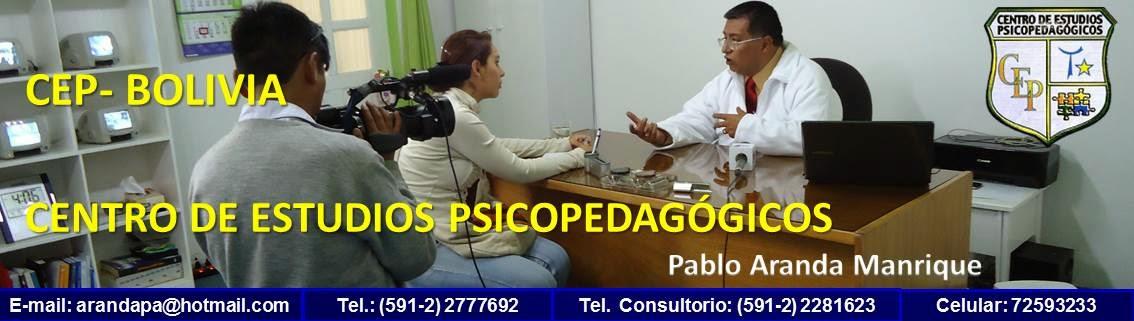 CENTRO DE ESTUDIOS PSICOPEDAGÓGICOS CEP - BOLIVIA
