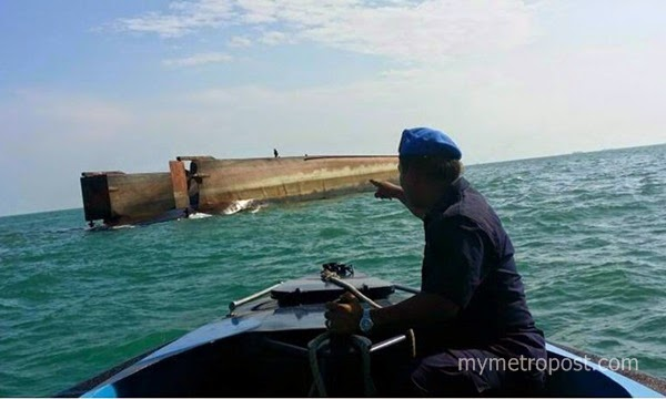 Kapal korek karam: Gerakan mencari 14 hilang dihentikan