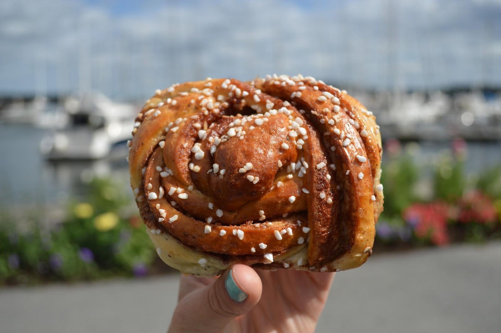 Kanelbulle swedish cinnamon bun fika