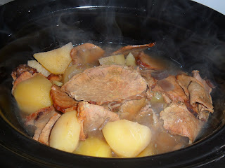 Cooking in the slowcooker