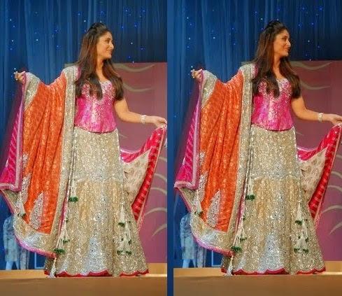 Bollywood Celeb Kareena Kapoor in Lehenga Choli ~ Indian ...