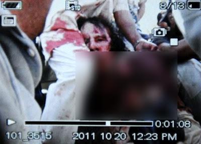 Muammar Gaddafi Akhirnya Mati Ditembak