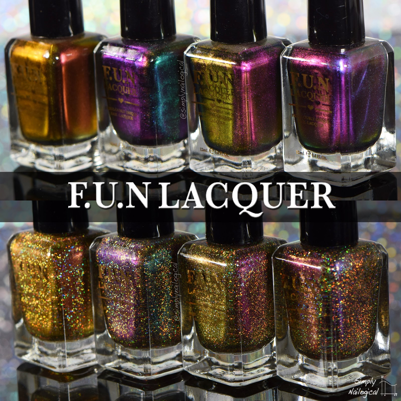 Simply Nailogical: Fun Lacquer 2015 New Year\'s Collection