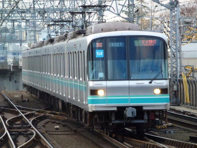 東京メトロ南北線 各停 王子神谷行き1 9000系